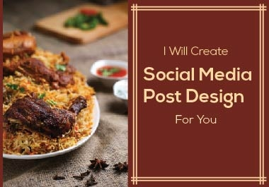 I will create Social Media Post designs for you