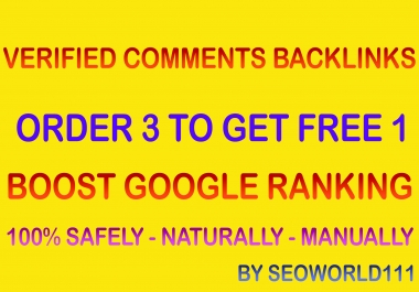 Unique 2,000 Verified Comments Backlinks for Fast Links Indexing