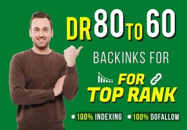 Skyrocket Your Website on Google by 80 Manual High Authority Dofollow SEO Backlinks