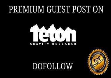 PUBLISH GUEST POST ON Tetongravity.com