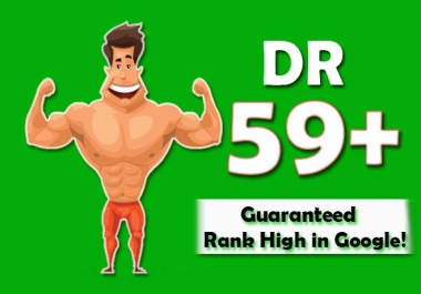 increase domain rating DR ahrefs to 50 plus and ranking