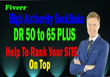 I will give you 30 high authority permanent dofollow seo backlinks