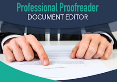 I Will Proofread And Edit Your Article And Any Other Document in a day