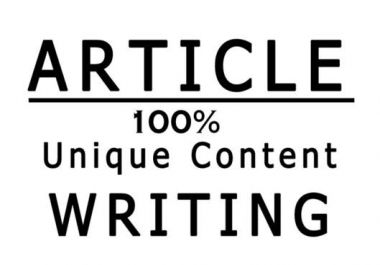 Write 300 Words Article that is SEO optimized and Unique on any topic