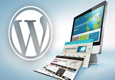 I will use elementor pro to design custom WordPress website