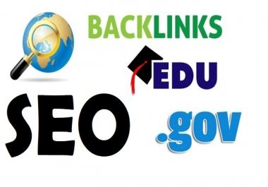 I will build 90 high authority dofollow seo backlinks edu link building