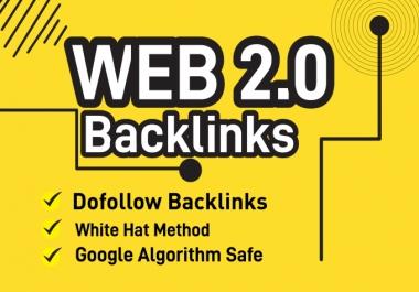I will build 10 high authority web 2.0 backlinks