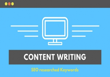 I will write 500 words engaging and SEO optimized article content writing and web page about us