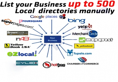 I will rank your business with local citations up to 500 directories