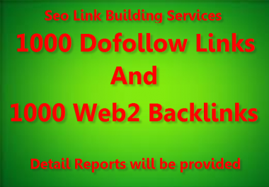 Diversify Link Building Services - Get 1000 Do-Follow and 1000 web2 backlinks