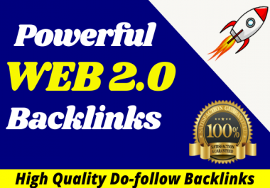 I will create 15 web2 0 super buffer blog high authority backlinks