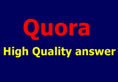 Guaranteed Traffic by 20 High-Quality Quora Answers