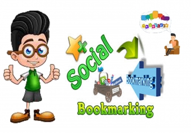 Manually Build 50 High quality Social Bookmarking Backlinks for Your Site