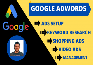 I will setup google ads PPC campaign to grow your business