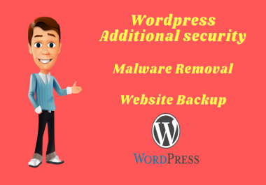 I will do remove malware,recover backup and word press security