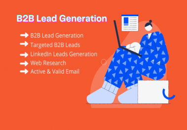 I will provide targeted 200 B2B leads