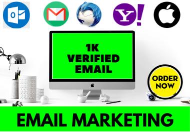 I'll provide 1K Verified USA Active Email