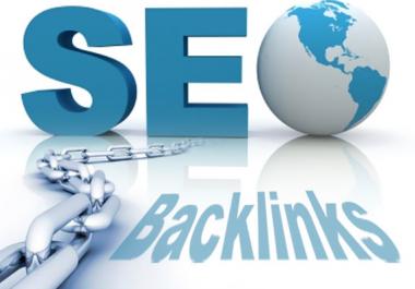 [Manual 30 Backlinks DA 80+ ] High PR Link Building SEO Pack