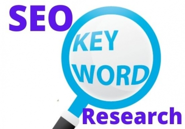 I will do SEO keyword Research and top competitor analysis that actually rank your website