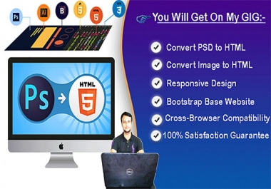i will convert psd to htm wordpress