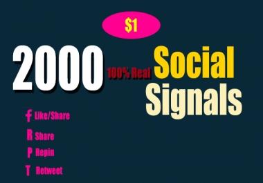 Top Powerful 2000 Permanent Reddit Social signals