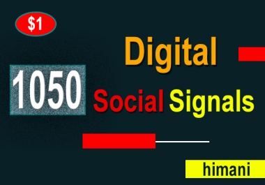 Create 1050 Digital Permanent Seo Social Signals
