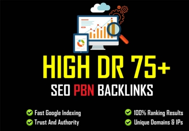I will build 50 premium pbn SEO backlinks, for google top 1st page ranking