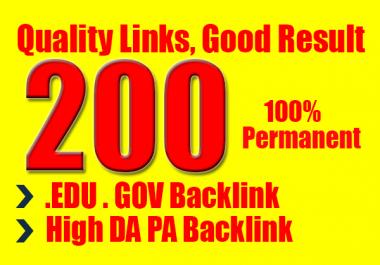 I will do manually create for google rank 200 usa backlinks