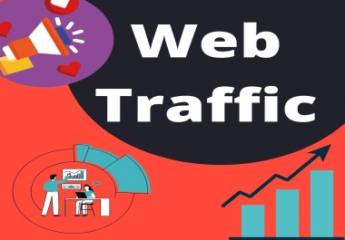 I will drive safe and organic unlimited traffic to your website