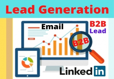 I will do b2b lead generation and email list building for your business