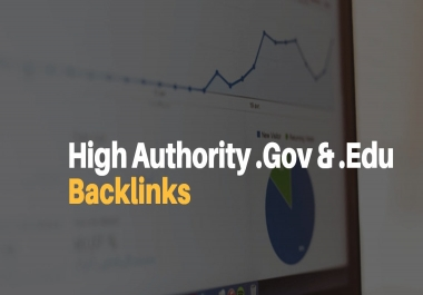 Manual 25 Edu and Gov Moz DA50+ Most Trusted Backlinks To Boost your Ranking