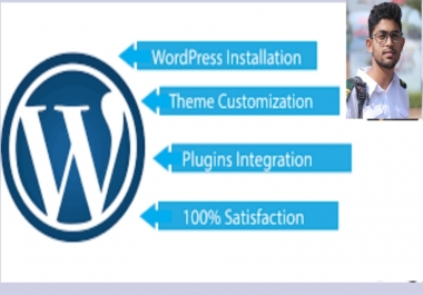 I do wordPress website installation, set up, customization and design