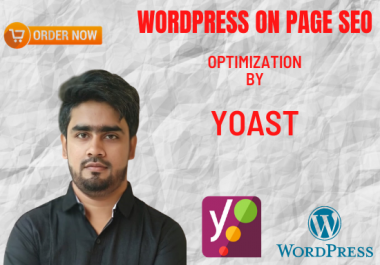 I will Do On Page SEO optimize with YOAST SEO plugin for Your WordPress Website