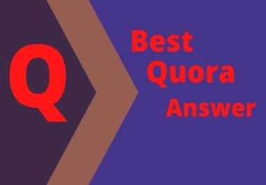 Guaranteed Targeted Traffic for 20 HQ Quora Answers