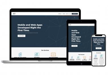 build wordpress responsive website with divi theme