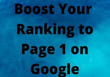 I Will Boost Your Ranking to Page 1 on Google W/ Nuclear SEO Package for 20