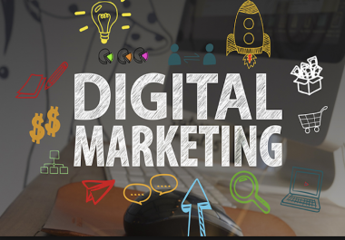 I will provide you best digital marketing and seo services
