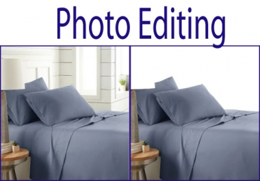 I will add remove object, do photo editing with photoshop