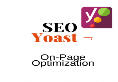 I will do SEO Yoast on page SEO for optimization of WordPress website