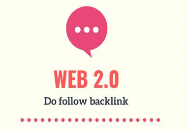 High quality 20 Web 2.0 blog post & backlinks