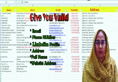 I will give your worldwide leads
