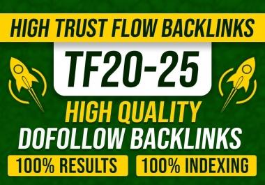 40 PBN high trust flow dofollow backlinks, high tf cf SEO link building