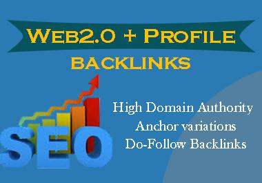 Claim manual 20 Web2.0 backlinks + 15 Profile Backlinks to rank your site