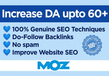 I will build 10 high authority do-follow backlinks DA 90+