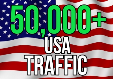 I will drive 50,000 traffic to your web site through social media marketing in USA