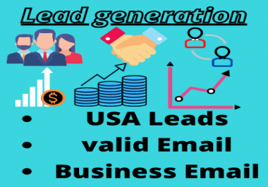 I Will Provide USA Business ,Email,Lead Genaretion