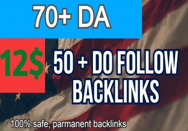 70+ DA 50 +POWERFULL PBN WEB 2.0 Backlinks !!! GET IT NOW!!!