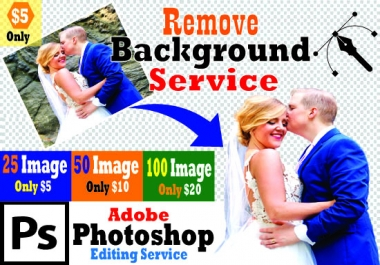 We will do 100 photos background removal for amazon product within 24 hours