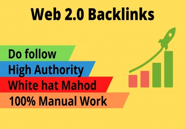 I will create super 15 Web 2.0 backlinks buffer blogs manually