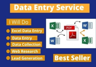 I Will Do Perfect Data Entry Works For Your Business